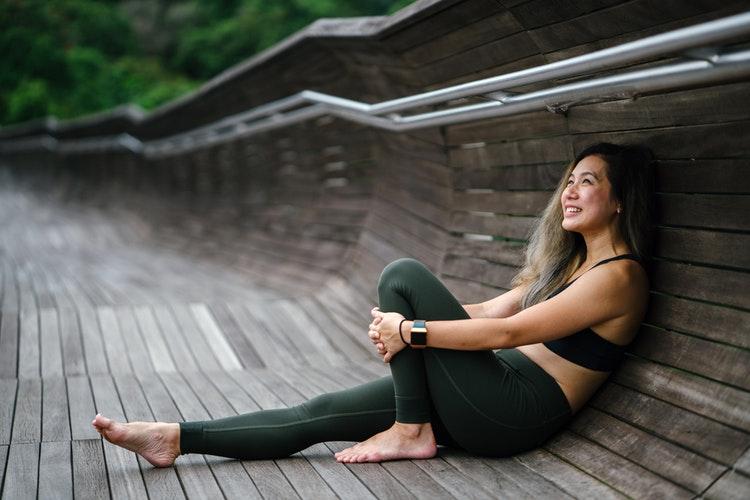 En stark trend är yoga